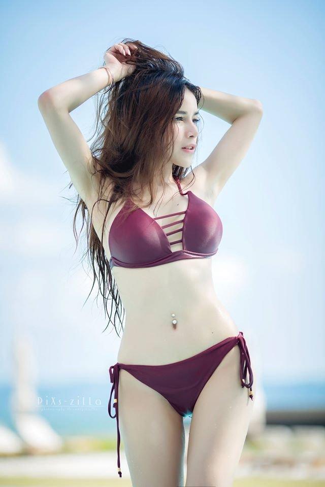 ภาพเด็ด น้องเชอรี่ นางแบบสาวสวย เน็ตไอดอลเมืองไทย สวยละลายใจ